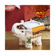 Good Luck Elephant Candle Holder