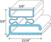 Traulsen DOOR GASKET 341-04507-03