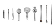 Uber bar tools Essential Deluxe Tool Kit, Chrome