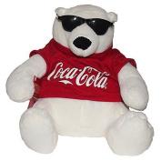 COCA-COLA COKE BEAR COLLECTIBLE PLUSH WITH SUNGLASSES
