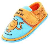 New Kids Boys Novelty Mr Men Mr Tickle T Cartoon Character Slipper 64518