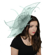 Hats By Cressida Viktoria Sinamay Ascot Fascinator Hat Available in Many Colours