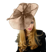 Hats By Cressida Large 41cm Commodore Ascot Fascinator Hat - Women's With Headband