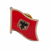 World Flag Pins - Albania W04S70A
