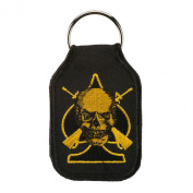 Embroidered Army Key Chains - Skull W01S42A