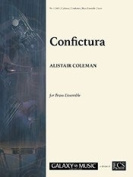 Coleman, Alistair - Confictura for Brass Ensemble by Galaxy Music