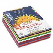 SunWorks® Construction Paper Smart-StackTM PAPER,CNST,9X12,300PK,AST DPC4700B