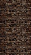 Pacon Ella Bella Photography Backdrop Paper, 120cm X 3.7m, Aged Brown Brick