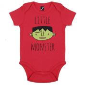 Batch1 Little Monster Cute Halloween Fancy Dress Short Sleeve Babygrow