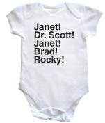 HippoWarehouse Janet! Dr. Scott! Janet! Brad! Rocky! baby vest boys girls