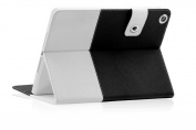 SAVEICON Black Hybrid iPad 2 / 3 / 4 PU leather Case Cover with Card Slots Auto Wake / Sleep Smart Cover Book Shell Stand for Apple iPad 2/3/4 iPad 2nd 3rd 4th Gen Wifi 3G 4G LTE with Built-in Stand