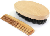 Military Hairbrush & Comb Set