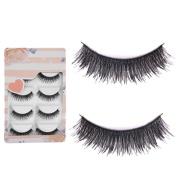Sanwood 5 Pairs Makeup Eye Lashes Extension False Eyelashes Beauty
