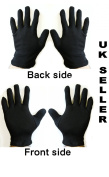 Black Cotton Gloves, Health, Music, Canvas, Beauty, Work Liner