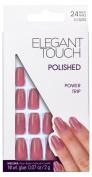 Elegant Touch Power Trip Polished Nails, Shimmer Dusky Rose