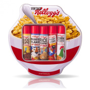 Kelloggs Cereal Lip Balm Sticks - Assorted Tin Gift Set - Retro 70's - Mad Beauty