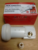 Mix Digital MD-1 Platinum Single LNB Gold Output Rubber Boot 2 Year Warranty