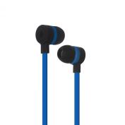 Puro IPHF16DKBLUE In-Ear Earphones with Mic for Mobile Phone-Blue