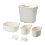 IKEA ONSKLIG - Stor baskets changing tbl set of 4, white / 0 . / 0 . - 60x49x68 cm