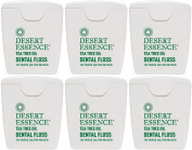 (6 PACK) - Desert Essence - Tea Tree Dental Floss 6 | 1unit | 6 PACK BUNDLE
