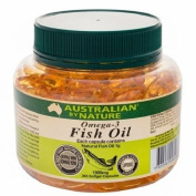 Australian by Nature Omega-3 Fish Oil 1000mg 365 Capsules