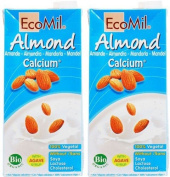 (2 Pack) - Ecomil - Almond Natural Drink + Calcium | 1000ml | 2 PACK BUNDLE