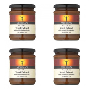 (4 PACK) - Meridian Natural Yeast Extract (Added Vitamin B12)| 340 g |4 PACK - SUPER SAVER - SAVE MONEY