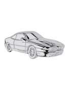 Silver Plated Cabouchon Pin BMW 850 series