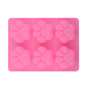 Homgaty Lovely Dog Cat Paw Silicone Fondant Cake Mould Ice Cube Cookies Kitchen DIY Gift