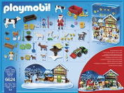 PLAYMOBIL 6624 Advents Calendar - Christmas on the farm