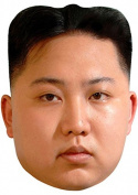 CELEBRITY FACE MASK KIT - KIM JONG UN - DO IT YOURSELF (DIY) #4