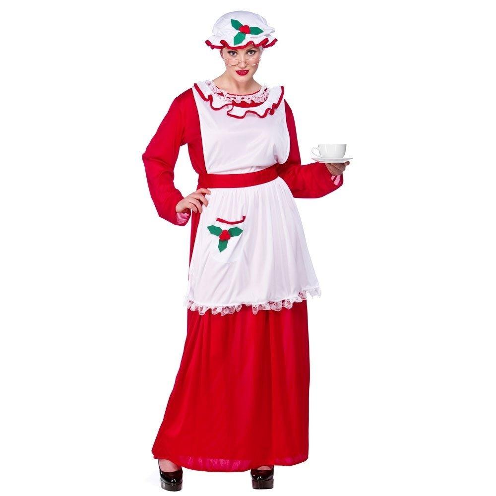 Plus Size Christmas Costumes.Xxl Ladies Mrs Santa Claus Christmas Costume For Nativity Panto Fancy Dress Womens Xxl Mrs Santa Clause Plus Size