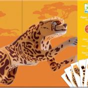 Juguetes papel Jaguar gigante
