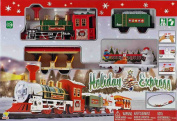 Christmas Holiday Express Festive Train Set Toy