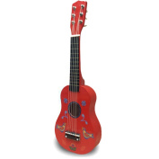 """FunkyBuys® Kids Children Wooden 20"""" Inch (50 cm) RED PATTERN (SI-907) Acoustic Guitars Music Instrument w/ 6 Strings Toy Gift"""
