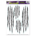 Halloween Horror CLAW SCRATCHES Scene Setter Prop Wall Stickers Decorations