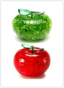 Viskey Educational Kid's Toy Apple Puzzle, Pack of 2 pcs Assoeted Colours