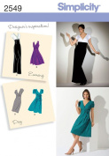 Simplicity Sewing Pattern 2549 Misses Special Occasion Dresses, R5