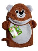 "Two's Company Bath Buddy ""Bear"" Terry Cloth Mitten"