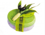 Savon de Marseille Bath Soap Bars Gift Set - Lavender Flowers & Olive Leaves