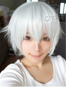 New Anime Short Anti-alice Layered Cosplay Party Costume Wig