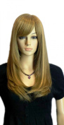 Winson Fashion Long Blonde Full Straight Women's Cosplay Party Anime Wig