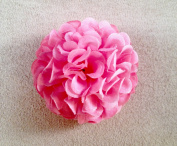 New Small Marigold Artifiicial Flower Hair Clip/Pin Brooch