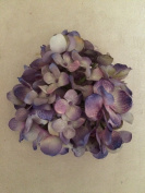 Medium Hydrangea Artificial Flower Hair Clip/Pin Brooch