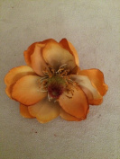 Small Magnolia Artificial Flower Hair Clip/Pin Brooch
