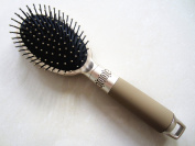 Myhsmooth PL-TY-AM Professional Hairbrush the Wet Hair Detangling Plastic Hair Brush or Comb with Retail Packaging