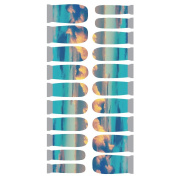 Winstonia Designer Nail Wrap - Fly High