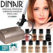 Dinair Airbrush Makeup Kit Personal Pro Medium Shades