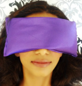 Lavender Eye Mask for Puffy Eyes and Dark Circles By Zenik - Hot and Cold Combination Eye Treatment - Blocks Out Light for Best Sleep - Lavender Scented for Complete Relaxation - Instant Relief From Headache, Migraine, Allergies, and Sinus Pain - Feel ..