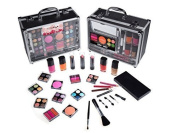 Cameo Train Makeup Kit with Reusable Aluminium Case Gift Set